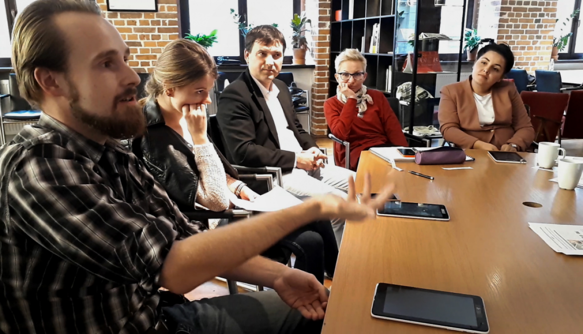 New Shores train-the-trainer workshop in Wroclaw